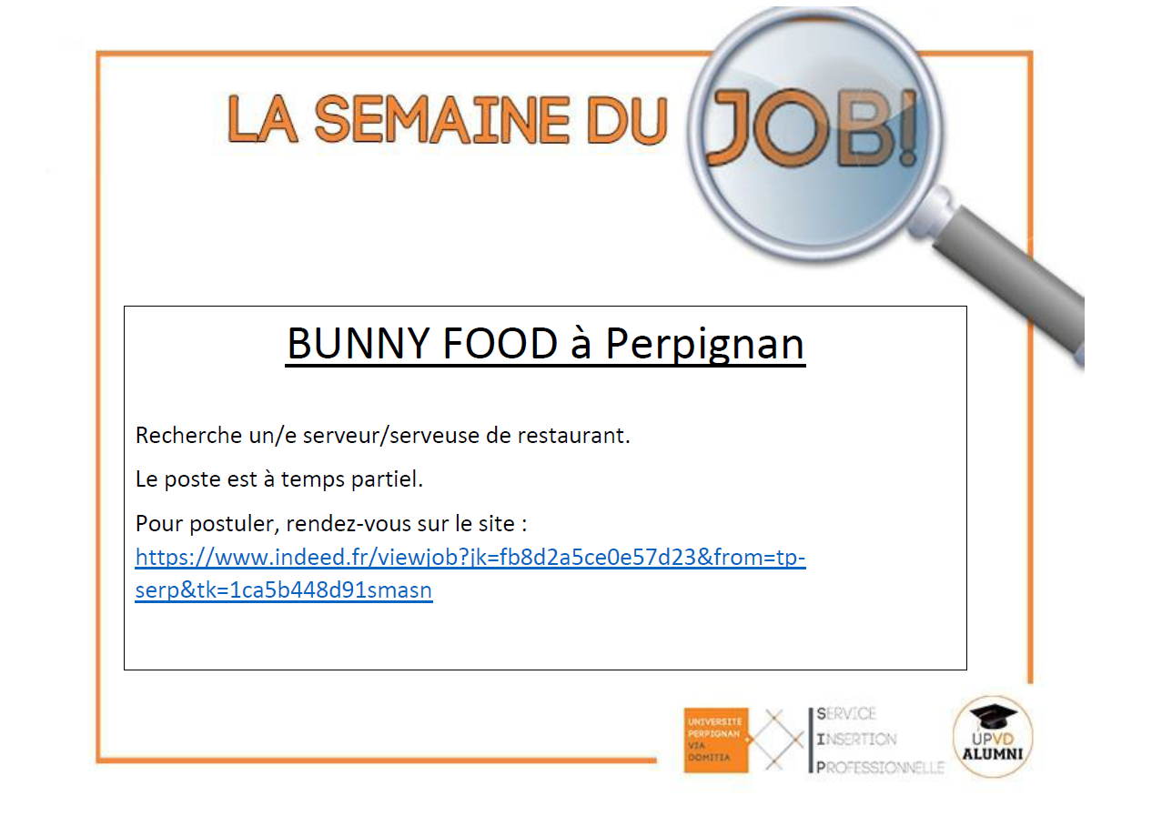 offre bunny food