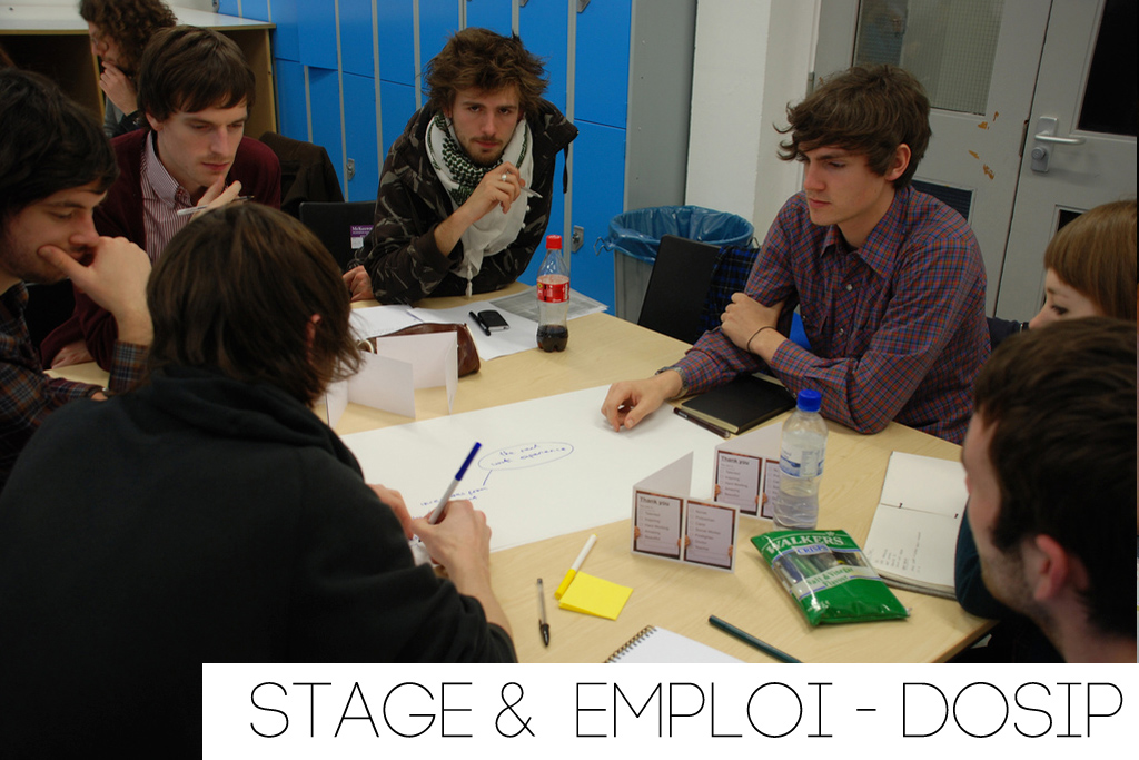 Stage/emplois